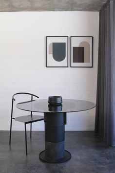 The latest design by Dark Horse - The Ramen dining chair is a beautfuil balance of comfort, lightweight structure and style. #minimalist #design #chair #modern #black #apartment Dark Horse, Minimalist Design, Ramen, Modern Furniture, Dining Chairs, Black, Style, Swag, Minimal Design