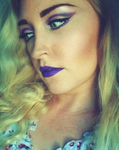 Make Up and more: Amethyst auf den Lippen- Look