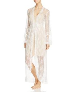 Jonquil Lace Robe | Bloomingdale's