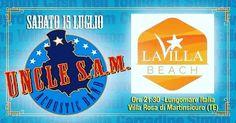 UNCLE SAM BAND live⠀ La Villa Beach - Martinsicuro | Eventi Teramo⠀ #eventiteramo #eventabruzzo #besties #bestoftheday #chill #chilling…