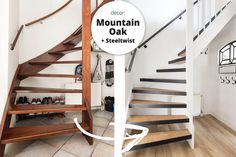 Closing an open staircase? We know how to deal with this at Upstairs! We can renovate your open staircase in one day! Style At Home, Open Staircase, Stairs, Open Trap, Kids Living Rooms, Entry Hallway, Interior And Exterior, Interior Design, House Rooms