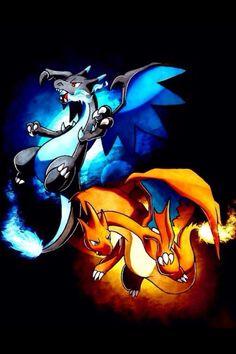 I love both of Charizards mega evolutions!