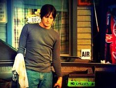 Norman Reedus in Bad Seed, in front of Murphys Bar!!