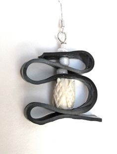 Upcycled Recycled / Bicycle Jewelry Inner Tube / by GroovyGarbage, $24.00
