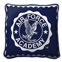 United States Air Force Academy Logo Art Tapestry Pillow