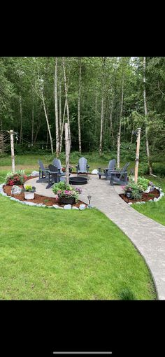 Outdoor Landscaping, Outdoor Gardens, Fire Pit Landscaping Ideas, Firepit Ideas, Patio Ideas, Backyard Ideas, Fire Pit Area, Fire Pit Backyard, Living Pool