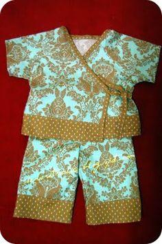 Baby Kimono Style PJs