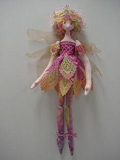 Jan Horrox Cloth Doll and Textile Supplies — Ballerina Fairy by Magic Threads