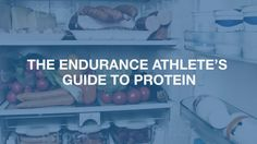 Your guide to everything protein! Do you know how much you really need, and the different types of protein? Click the article to find out!