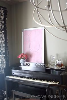 Crazy Wonderful: if you're gonna refinish a piano...
