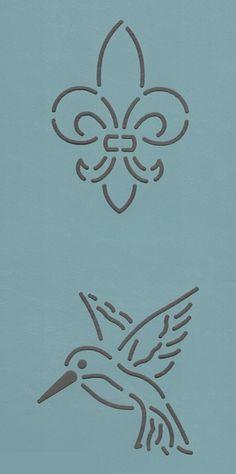"""Mini Block #70-3"""" - The Stencil Company"""