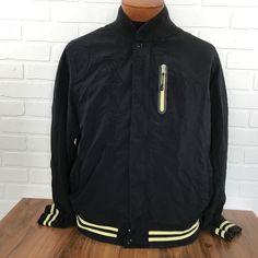 NIKE Sportswear XXIV Men's Sz XXL 2XL Jacket Black Yellow Know Originate Coat #Nike #SoftShell