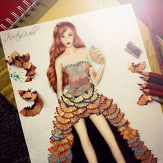 25 Beautiful Color Pencil Drawings and Creative Art works by Kristina Webb 3 color pencil drawing by kristina Kristina Webb Drawings, Kristina Webb Art, Fashion Illustration Sketches, Fashion Sketches, Creative Illustration, Art Sketches, Fashion Design Drawings, Creative Artwork, Colored Pencils