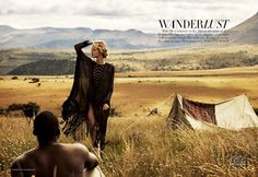 A fashion editorial in the March 2012 Harper's Bazzar Australia featuring Dutch model Marloes Horst.