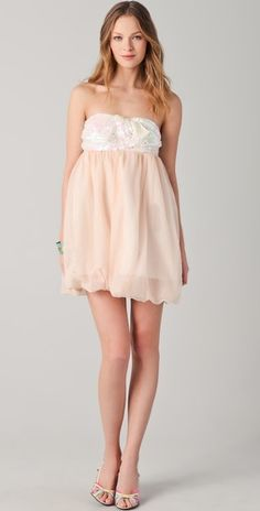 Brose Stacey Sequined Bubble Mini Dress