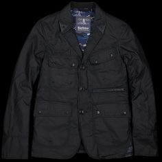 UNIONMADE - Barbour - Barbour White Mountaineering Wax Lapel Jacket in Indigo