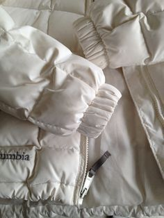 I decided to finally tackle the project that is washing my 10+ year old white Columbia down jacket.  When I first got it,  I had never heard of technical washes (did they even exist then?!) so my p…