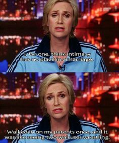 Sue Sylvester is the best thing on Glee.