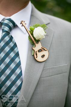 Loved this idea by my bride for a music themed wedding!