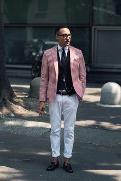 ... at Pitti 86 Love the blazer #mens #menswear