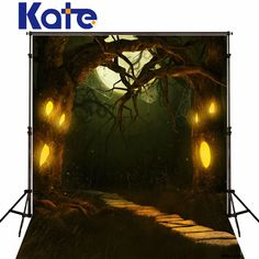 Find More Background Information about Kate Halloween Moonlight  Photography Backgrounds with spider web Stone Rosd Ooudoor Photo Backdrops for Children photo studio,High Quality photography background,China photo backdrops Suppliers, Cheap halloween background from Marry wang on Aliexpress.com