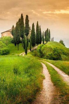 San Quirico d'Orcia (Tuscany, Italy) by Alberto di Donato