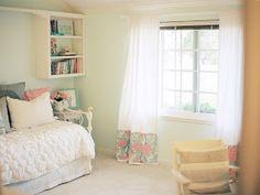 Michaela Noelle Designs: {Mint & Peachy Pink} My Bedroom Tour Reveal