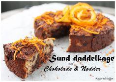 Sund Daddel kage med Chokolade  Nødder (Kager til kaffen)