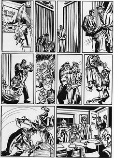 Un dia cualquiera de The Spirit  http://frikinianos.es/un-dia-cualquiera-de-the-spirit/  #comic #thespirit #spirit #ilustration