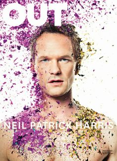 Male Fashion Trends: Neil Patrick Harris en portada de OUT Magazine Abril 2014
