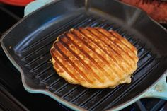 Always Order Dessert: Grill Pan Waffles! (How to make waffles without a waffle iron) Cast Iron Grill Pan, Cast Iron Cooking, Griddle Pan Waffles, Griddle Grill, Waffle Recipes, Baking Recipes, Waffle Pan, How To Make Waffles, Making Waffles
