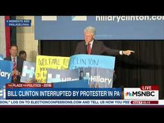 Bill Clinton: 'Black Lives Matter' Protesters Are Defending Murders And Drug Dealers | The Weekly Standard