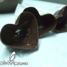 Esta decoración en chocolate es algo parecida al Bol de Chocolate que publiqué hace un tiempo