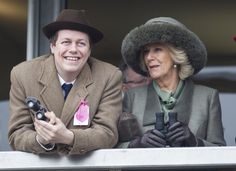 Camilla and Tom look satisfied with the result.