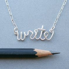 Write. $36.00, via Etsy.
