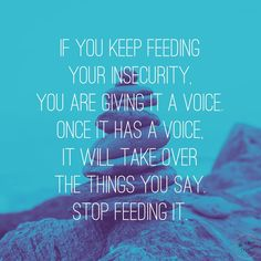 Insecurities grow when we feed them. Stop feeding them and get rid of them.  #TSP #theshineproject #quotes #quotesandsaying #gospel #christian #JesusChrist #instadailys #instadailypic #love #inspirational #inspirationalwords #inspirationalquote #bestoftheday #inspirationalquoteoftheday #inspires #inspire1 #good #daily #dailyquotes #wordstoliveby #picoftheday  #picofthedays #picoftoday #beautiful #lifestyle #keepgoin #keepgoing #instagood #instapost #inspiration #instagram #insta  #amazin