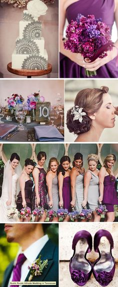 Check out the top 2013 summer color schemes, including blush and gray, lavender and mint, emerald and navy blue, plum and silver, etc.