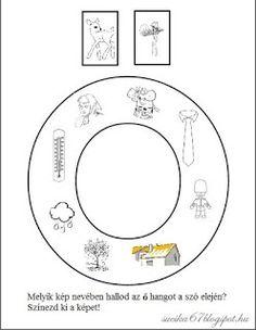 Játékos tanulás és kreativitás: Kisbetűkben képek a hangfelismerés gyakorlásához Dysgraphia, Symbols, Letters, Teaching, Education, School, Montessori, Facebook, Books