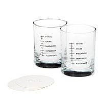 GOOD GRIEF GLASSES - SET OF 2|UncommonGoods