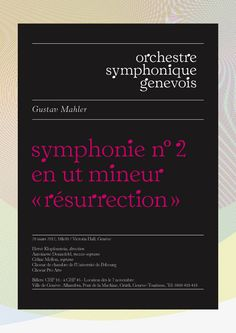 A logo you can hear: Orchestre Symphonique Genevois /KW43 Branddesign