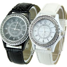 Cheap Fashion Watches, Buy Directly from China Suppliers:Description:100% brand new and high qualityUnique surface design, fashion styleRhinestone crystal around