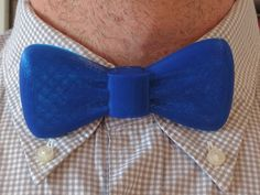 Bow Tie (flat, 1-piece, and easy to print) by IAMGROOT8888 - Thingiverse