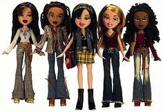 i used to love these!!! those bratz in the picture, are the exact same ones i used to have! how crazy!