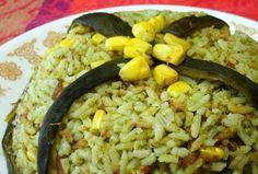 Arroz verde de chile poblano - foto (c) Ed Valdizán