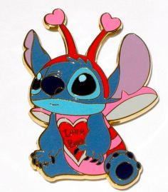 Hawaii Disney LILO /& STITCH Fantasy License Plate pin I LOVE LILO
