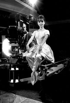 """I was born with something that appealed to an audience at that particular time...I acted instinctively. I've had one of the greatest schools of all - a whole row of great, great directors.""-Audrey♥"