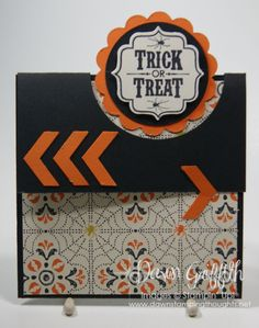 Dawn GriffithTrick or Treat card  for Club cased from Candy M