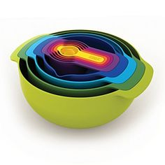 colorful bowl set