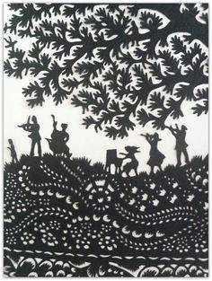 Paper Moon / Greenwich Market / papermoon88@googlemail.com / Artist Wei Chen's hand cut paper art