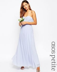 Buy ASOS TALL WEDDING Multiway Mesh Maxi Dress at ASOS. Get the latest trends with ASOS now. Wedding Robe, Asos Wedding, Wedding Attire, Maxi Robes, Chiffon Maxi Dress, Strapless Dress Formal, Asos Long Dresses, Casual Dresses, Bridesmaid Dresses